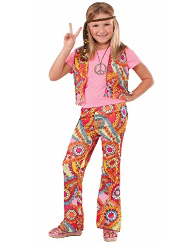 Forum Novelties 60's Hippie Girl Child Costume, (Girls 70s Costume)