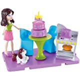Polly Pocket Stick 'n' Play Kerstie Baking Party Playset