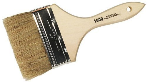 (Linzer White China Bristle Chip Flat Paint Brush by Linzer )