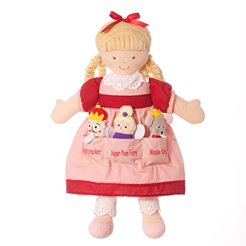 North American Bear Dolly Pockets Clara - Ballet Dolly