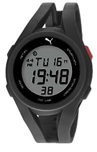 Puma  PU911131001 - Reloj de cuarzo para hombre, con correa de plástico, color negro