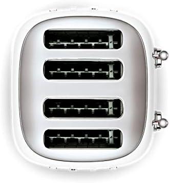 SMEG Set de 2 piezas Blanco, tostadora de 4 compartimentos ...