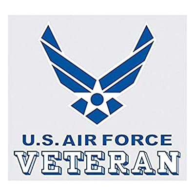 United States Air Force Veteran Logo Car Decal US Military Gifts USAF Products: Clothing