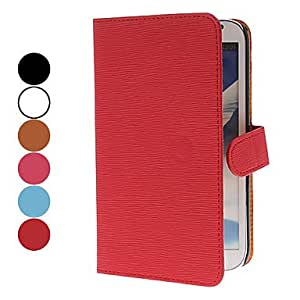 SUMCOM Toothpick Grain PU Leather Full Body Case with Card Slot for Samsung Galaxy Note 2 N7100 (Assorted Colors) , Blue
