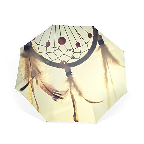 - Travel Umbrella Windproof Compact Wind Chimes Umbrella Automatic Open Close Folding Golf Umbrellas