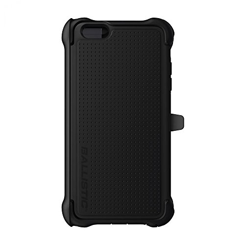 Ballistic Tough Jacket Maxx Clip-On Schutzhülle Case Cover für iPhone 6 Plus  5,5 Zoll - Schwarz