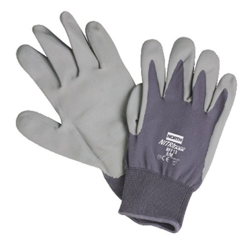 NITRITASK FOAM GLOVE GREY NYLON SEAMLESS LINER