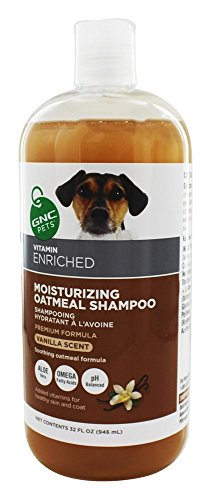 GNC Pets Moisturizing Oatmeal Shampoo - Vanilla Scented 32 oz. (Gnc Pets Shampoo)