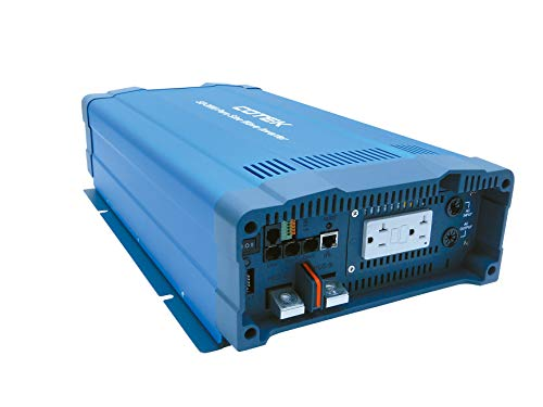 Cotek SD3500-112 3500W, 12VDC Pure Sine Wave Inverter | Input and Output Protection | Power Saving Mode Selectable by DIP Switch or Remote Control | Parallel Redundancy Design for Power Expansion