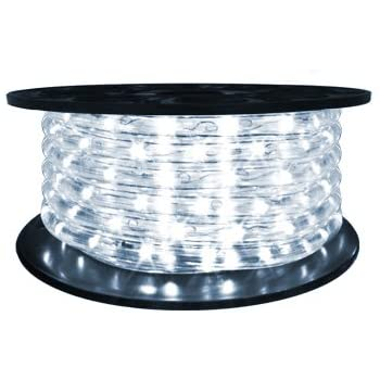 Amazon brilliant 120 volt led rope light 65 feet home brilliant 120 volt led rope light 65 feet aloadofball Image collections