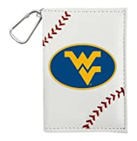 NCAA West Virginia Mountaineers ID Holders, White