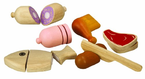 PlanToys Plan Activity Large Scale Meat Set, Baby & Kids Zone