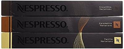 Nespresso OriginalLine: Vanilio, Ciocattino, Caramelito - ''NOT Compatible with Vertuoline''