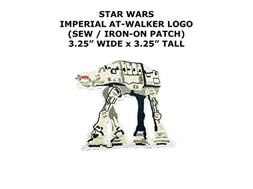 Imperial AT-Walker Star Wars DIY Embroidered Sew or Iron-on Applique Patch Outlander Gear (Men Planet Walker)