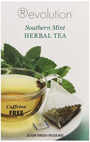 Revolution Tea Southern Mint, 20 Count (Pack of (Revolution Mint)