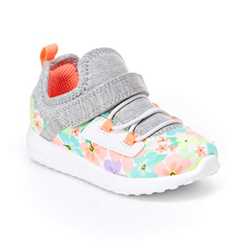 Carter's Girl's Athletic Sneakers, print, 11 M US Toddler