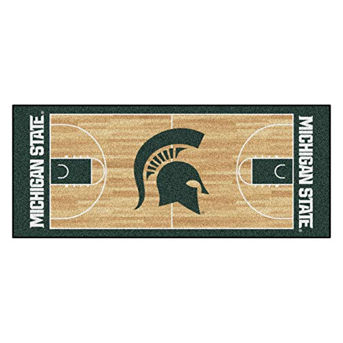 Fan Mats Michigan State University Basketball Court ()
