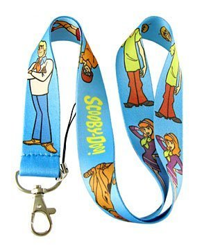 Amazon.com   Scooby Doo Lanyard Keychain Holder Blue   Office Products 952d5b9f3324