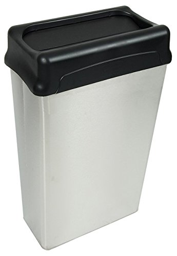 Wastebaskets Standard (Witt Industries 70HTSS Indoor Standard Wastebaskets, Stainless Steel Finish)