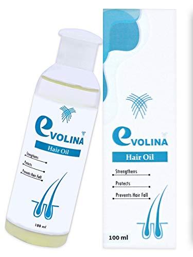 Evolina Herbal Hair Oil For Hair Fall Treatment And Hair Growth (100ml)