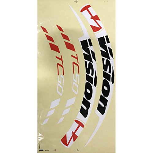 FSA Vision TriMax Carbon TC50 Bicycle Wheel Replacement Decals/Stickers - 752-1225