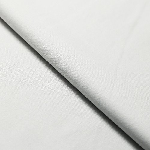 PBT Polyester | Ideal For Swimwear & Sportswear | Chlorine, Salt Water & Color Fading Resistant | 52% PBT, 48% Polyester (1 Yard, White)