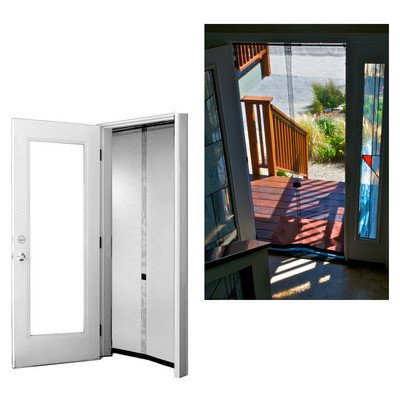 Bug Off 36 by 80 Instant Screen, Fits Standard Single Front Doors and 6-Foot Sliding Glass Doors ()