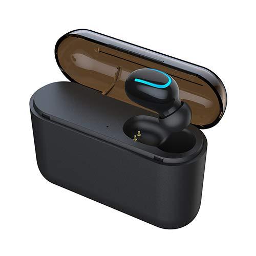 [해외]무선 이어버드 블루투스 5.0 마이크가 내장된 헤드폰 마이크 핸즈프리 통화 스테레오 사운드 블루투스 이어버드 스포츠 이어폰 휴대용 충전 케이스(단일 귀)로 작동 가능 / Wireless Earbuds Bluetooth 5.0 Headphones with Built-in Mic with Mic H...