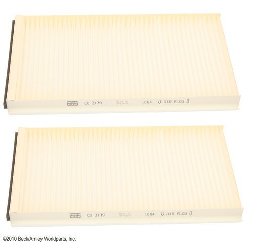 Beck Arnley 042-2169 Cabin Air Filter - Pair