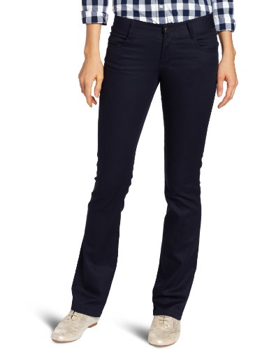 Lee Uniforms Juniors Classic 5 Pocket Straight Leg Pant, Navy, 1