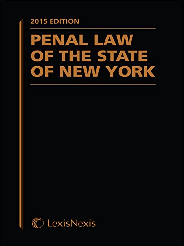 new york state penal law - 8