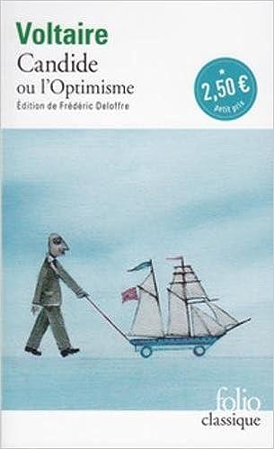 Candide Ou Loptimisme Amazon Voltaire 9782070466634 Books