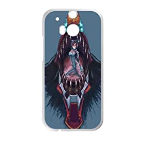 Mari Makinami Illustrious Neon Genesis Evangelion Anime 2 HTC One M8 Cell Phone Case White y2e18-398213
