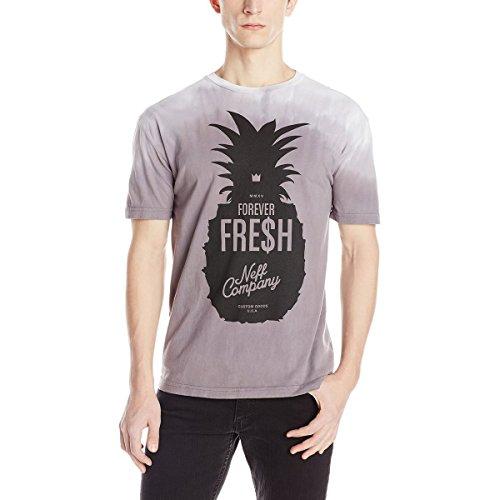 neff Men's Ripe Future T-Shirt, White, Large