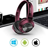 Electronics : Oguine Bluetooth Headphones Bluetooth 5.0 Noise Cancelling Headphones Over Ear Foldable Stereo Wireless Headset with Micphone Bluetooth Earphones
