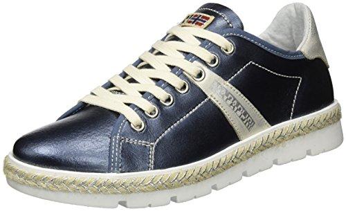 Lykke Donna Sneaker blue Basse Blau Napapijri Metallic dTCw4d
