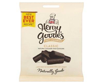Candyland Henry Goodes Soft Liquorice (140g x 12)