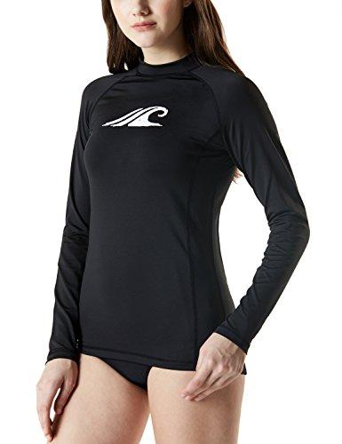TSLA TM-FSR24-AQA_X-Large Women's UPF 50+ Regular-Fit Long Sleeve Athletic Rashguard FSR24 ()