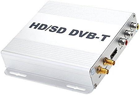 TOOGOO DVB-T HD SD Multi-Canal Movil Coche Digital TV Caja Mini TV Sintonizador Analogico Alta Velocidad 240 km/h Receptor de Senal Fuerte para Monitor del Coche: Amazon.es: Electrónica