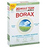 20 Mule Team Borax Detergent Booster & Multi-Purpose Household Cleaner 65 oz. Box - 4 Pack