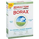 20 Mule Team Borax Detergent Booster & Multi-Purpose Household Cleaner 65 oz. Box - 3 Pack