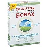 20 Mule Team Borax Detergent Booster & Multi-Purpose Household Cleaner 65 oz. Box - 2 Pack