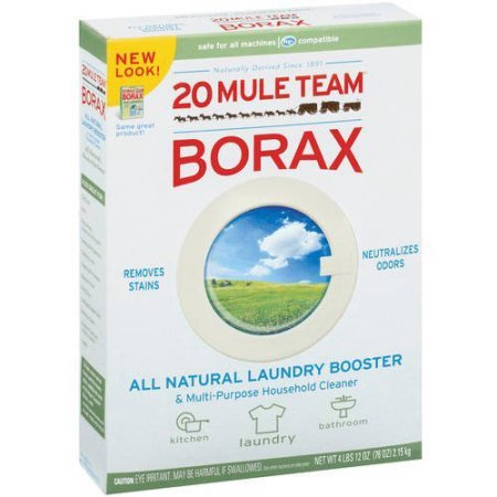 20 Mule Team Borax Detergent Booster & Multi-Purpose Household Cleaner 65 oz. Box - 2 Pack