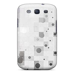 XiFu*MeiNew AotDIEh2068pwEJD Patterns Circles Squares Colors Tpu Cover Case For Galaxy S3XiFu*Mei