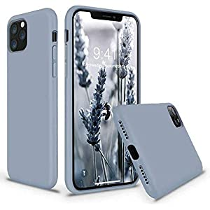 Loxxo® Microfiber Candy Case Compatible for iPhone 12 Pro 6.1 inch, Shockproof Slim Back Cover Liquid Silicone Case…