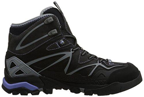 senderismo CAPRA negro mujer Schwarz SPORT Merrell Grey de Black GTX botas sintético de MID material nHZdwqYF