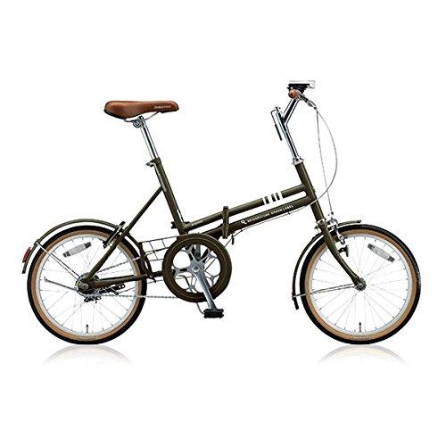 ブリヂストン(BRIDGESTONE) 折りたたみ自転車 マークローザ F MRF81 T.Xマットカーキ 変速なし   B076J6J8HR