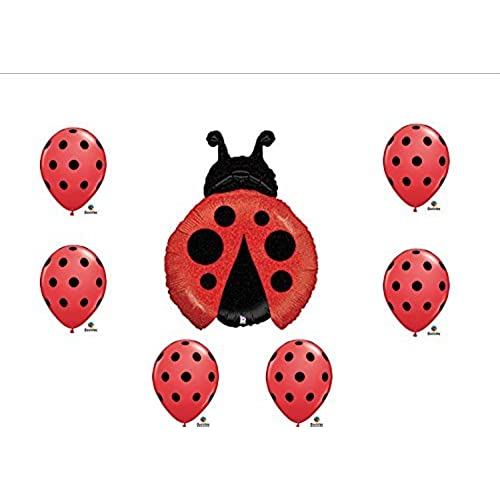 1 X Ladybug Balloon Set Birthday Party Baby Shower Decorations Supplies (7)