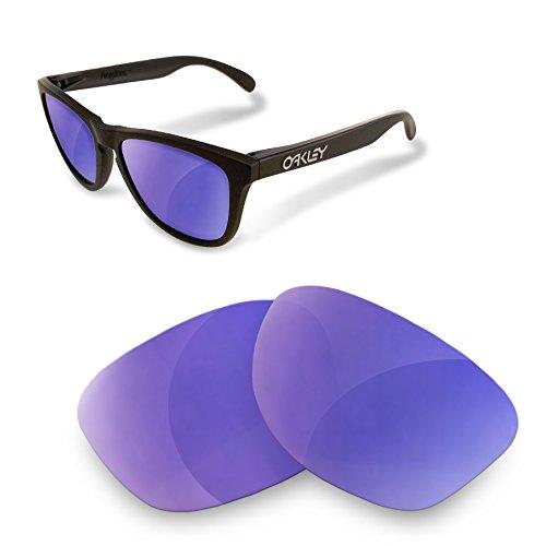 sunglasses restorer Lentes de Recambio Polarizadas Espejo Morado para Oakley Frogskins: Amazon.es: Deportes y aire libre