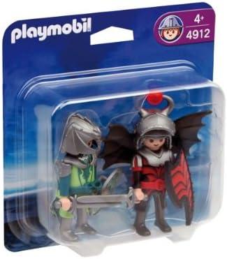 PLAYMOBIL - Pack de 2 Figuras Caballeros del dragón (4912): Amazon.es: Juguetes y juegos